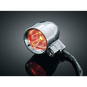 Kuryakyn Red Dual Circuit Super Bright LED Silver Bullets - 1647