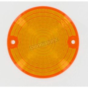K & S Replacement Amber Lens - 25-3010