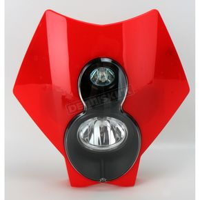 Trail Tech Red X2 Headlight - 36T4J-70