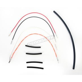 NAMZ Custom Cycle Products Handlebar Wiring Extension +12 in. - NTGR-HX12