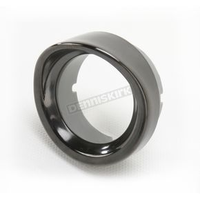 Saddlemen Replacement Titanium Black Chrome Hooded Trim Ring - 2040-0813