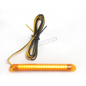 Custom Dynamics TruFLEX 20-Amber LED with Amber Tubing Professional Grade Flexible Lighting Strip - TF20AA