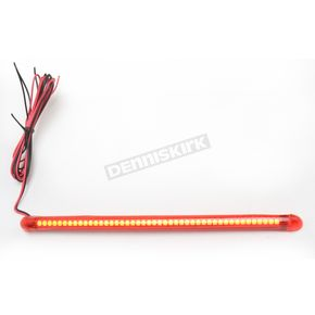 Custom Dynamics TruFLEX 45-Red LED with Red Tubing Professional Grade Flexible Lighting Strip - TF45RR