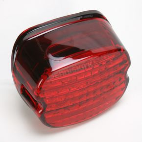 Kuryakyn Low-Profile Panacea LED Taillight with Red Lens - 5425