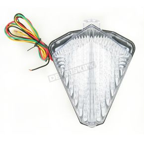 Advanced Lighting Integrated Taillight w/Clear Lens - TL-0018-IT