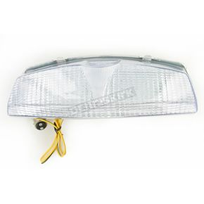 Advanced Lighting Integrated Taillight w/Clear Lens - TL-0202-IT