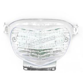 Advanced Lighting Integrated Taillight w/Clear Lens - TL-0303-IT