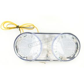 Advanced Lighting Integrated Taillight w/Clear Lens - TL-0002-IT
