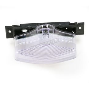 Advanced Lighting Integrated Taillight w/Clear Lens - TL-0021-IT