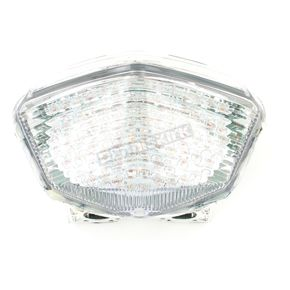 Advanced Lighting Integrated Taillight w/Clear Lens - TL-0221-IT