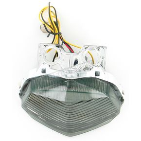 Advanced Lighting Integrated Taillight w/Smoke Lens - TL-0221-IT-S