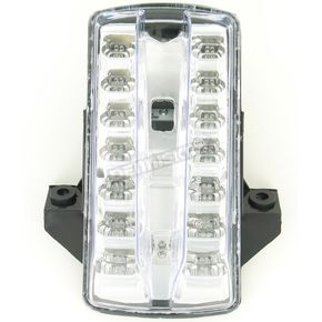 Advanced Lighting Integrated Taillight w/Clear Lens - TL-0315-IT