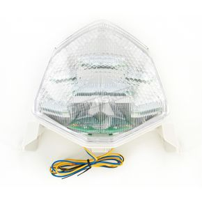 Advanced Lighting Integrated Taillight w/Clear Lens - TL-0220-IT