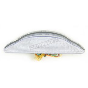 Advanced Lighting Integrated Taillight w/Clear Lens - TL-0013-IT