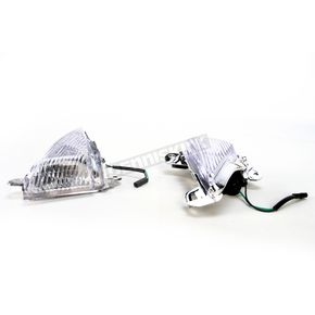 Advanced Lighting Clear Turn Signal Lenses - WL-0211