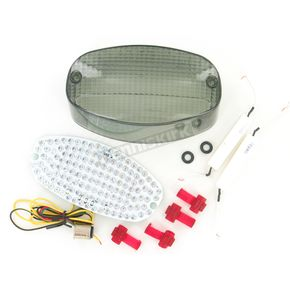 Advanced Lighting Integrated Taillight w/Smoke Lens - TL-0005-IT-S