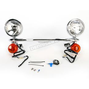 Cobra Steel Lightbar/Spotlight Kit - 04-0117A
