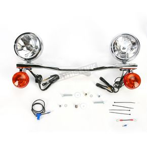 Cobra Steel Lightbar/Spotlight Kit - 04-0431A