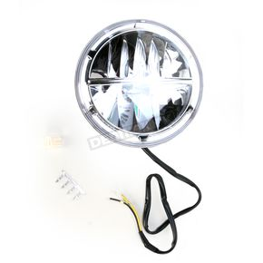 Drag Specialties 7 in. LED Sealed Beam Headlight - 2001-0659