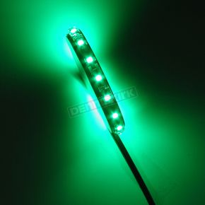 Custom Dynamics Green LED Flex Magic® Wheel Lights - MF15GREENB