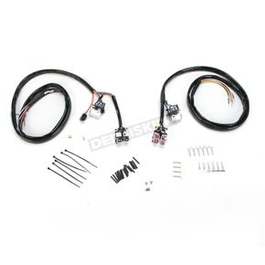 V-Factor Chrome L.E.D. Handlebar Switch Wiring Kit - 12034