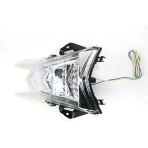 Competition Werkes Integrated Taillight w/Clear Lens - MPH-80162C