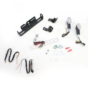 Targa Tail Kit with Black/Amber Turn Signals - 22-475-L