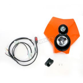 Trail Tech Orange 70 Watt Torch X2 Halogen Headlight - 36T3L-70