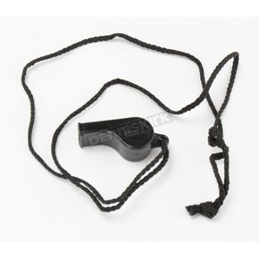 Atlantis Black Whistle with Neck Cord - A2700
