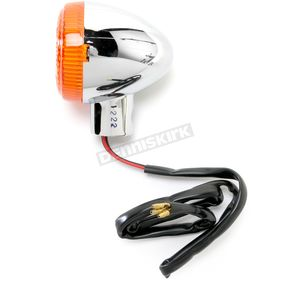 K & S DOT Approved Turn Signals w/Amber Lens - 25-1222