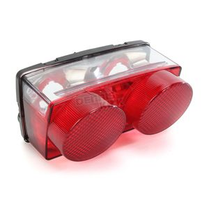 Kimpex Red Taillight Lens - 01-420