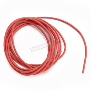 NYC Choppers Red 10 ft. Braided Wire Roll w/o Tracers - 16G-10FT/RD