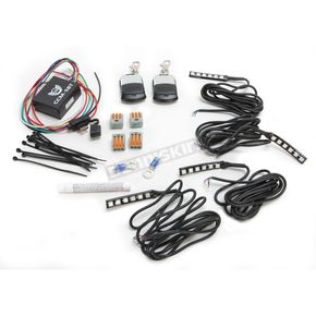 Custom Dynamics Slimline Magical Wizard Light Starter Kit w/Bluetooth color Command 5 LED Remote Control - TMWZ07BM