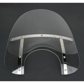 Memphis Shades Memphis Fats 19 in. Windshield for 9 in. Headlight - MEM3710