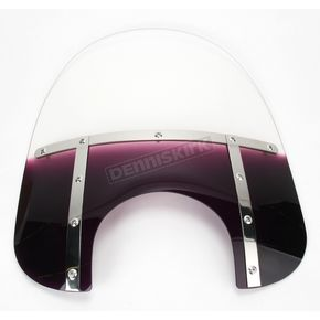 Memphis Shades Memphis Fats 17 in. Gradient Purple Windshield for 9 in. Headlight - MEM3624
