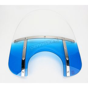 Memphis Shades Memphis Fats 21 in. Gradient Blue Windshield for 9 in. Headlight - MEM3816