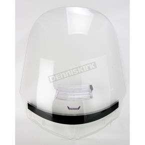 Slip Streamer Clear Vented Tour Shield - T167V-C
