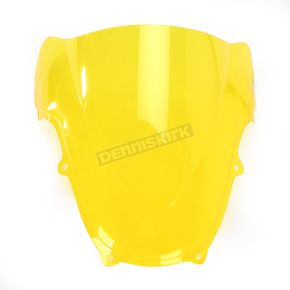 Zero Gravity Yellow Double Bubble Windshield - 16-106-06