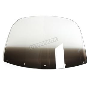 Memphis Shades 12 in. Replacement Gradient Black Plastic for use with OEM Harley-Davidson Windshield Hardware - MEP8021