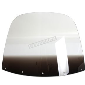 Memphis Shades 15 in. Replacement Gradient Black Plastic for use with OEM Harley-Davidson Windshield Hardware - MEP8031