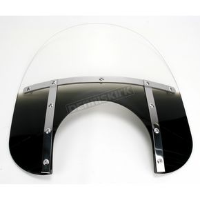 Memphis Shades Memphis Fats 15 in. Windshield with 11 in. Headlight Cutout - 2312-0010
