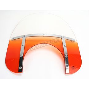 Memphis Shades Memphis Fats 19 in. Windshield with 11 in. Headlight Cutout - 2312-0035
