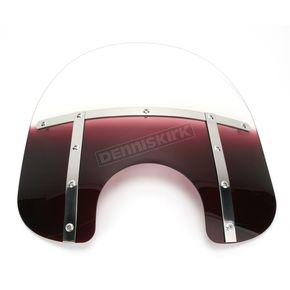 Memphis Shades Memphis Fats 15 in. Gradient Purple Windshield for Standard 5 3/4 in. - 7 in. Headlights - MEM3124
