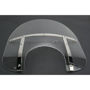 Memphis Shades Memphis Fats 15 in. Windshield for 9 in. Headlight - MEM3520