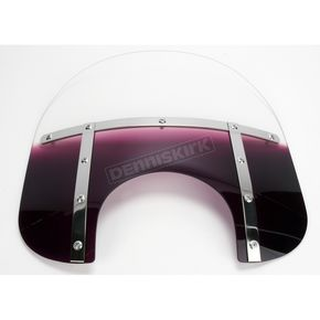 Memphis Shades Memphis Fats 15 in. Windshield for 9 in. Headlight - MEM3524