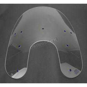Replacement Plastic For Harley-Davidson 19 Replacement Shield Fx//R//D//L Memphis Shades MEP6330 Clear Windshield