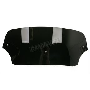 Memphis Shades Batwing 5 in. Black Windshield for Batwing Fairing - 2310-0215