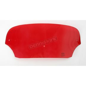Memphis Shades 5 in. Ruby Batwing Windshield for Batwing Fairing - 2310-0227