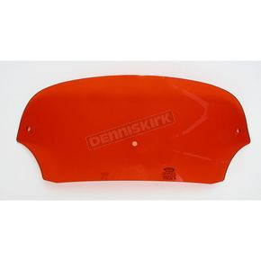 Memphis Shades 5 in. Burnt Orange Batwing Windshield for Batwing Fairing - MEP8507
