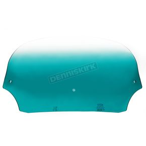 Memphis Shades 7 in. Gradient Teal Batwing Windshield for Batwing Fairing - MEP8513